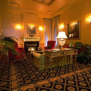 Lobby at Hotel Le Soleil