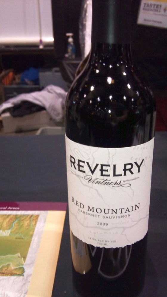 Revelry Vintners Red Mountain Cabernet Sauvignon 2009