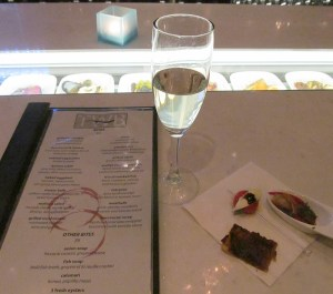 The Wine Bar menu and appetizers