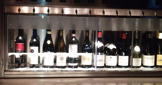 Wines in the preservation system