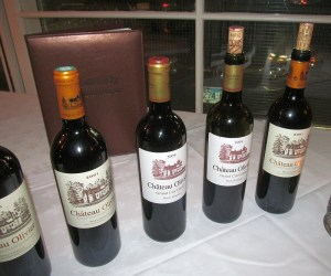 Chateau Olivier Bordeaux flight 2