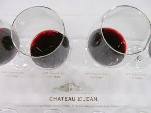 Chateau St Jean Cinq Cepages vertical
