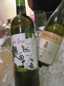 Santa Cruz Verdejo and Hiedler Gruner Veltliner