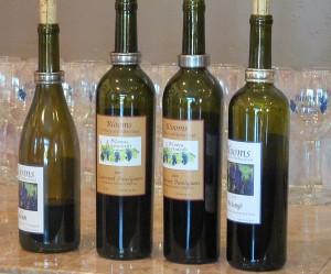 Blooms Syrah, Cabernet Sauvignon, and Melange wines