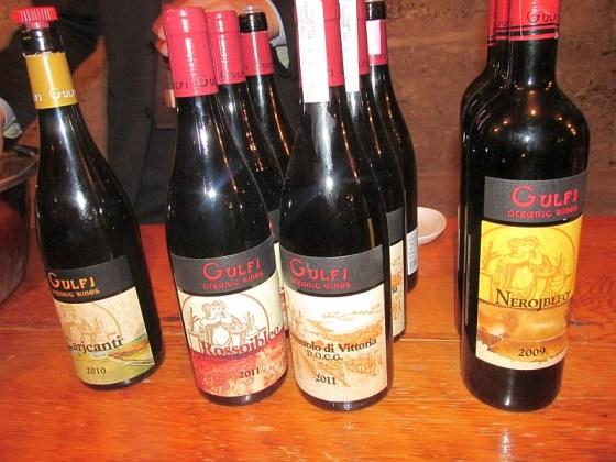Gulfi organic wines