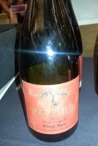 Orofino Pinot Noir 2011
