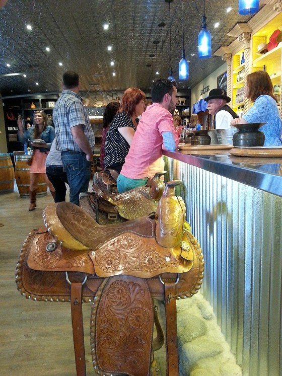 Saddling up to the tasting bar at Krause Berry Farms
