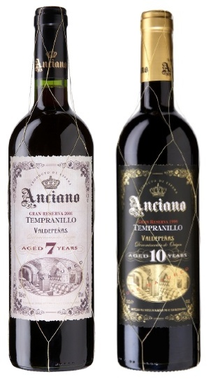 Anciano Gran Reserva 2005 and 2002