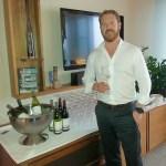 Wine maker Tim Heath from Cloudy Bay