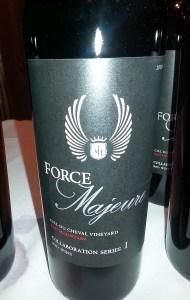 Force Majeure Syrah Collaboration Series I 2010