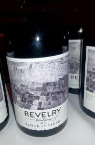 Revelry Vintners Block 19 Syrah 2010