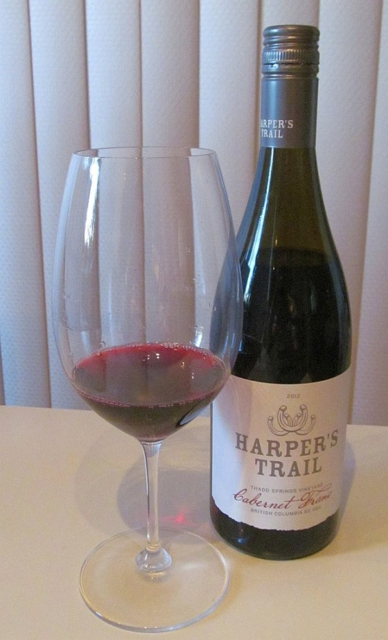 Harpers Trail Cabernet Franc 2012