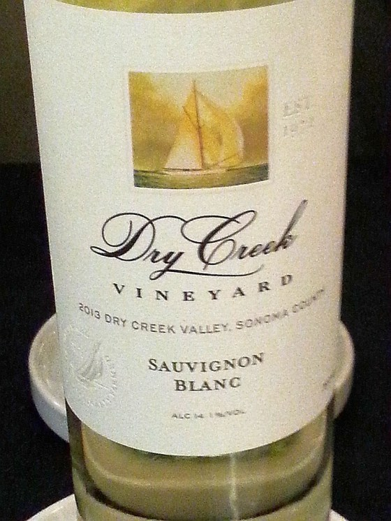 Dry Creek Vineyard Sauvignon Blanc 2013