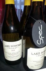 Lake Sonoma Winery Chardonnay 2012