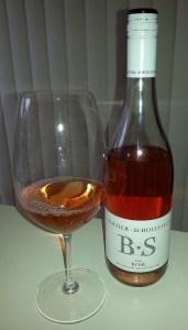 Bartier Scholefield Rose 2011 in glass