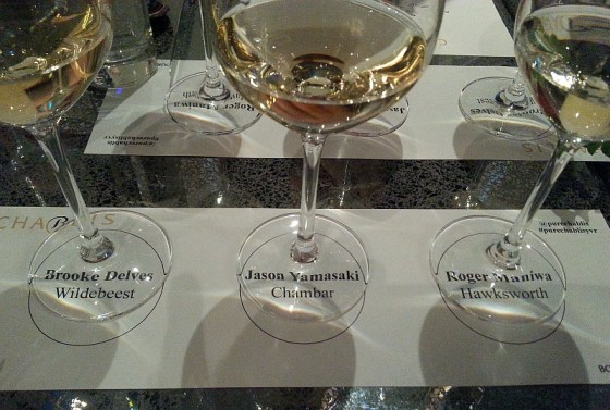 Chablis selection by Brooke Jason and Roger