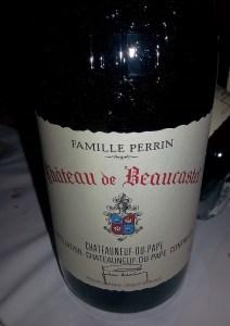 Famille Perrin Chateau de Beaucastel Chateauneuf-du-Pape Rouge 2011