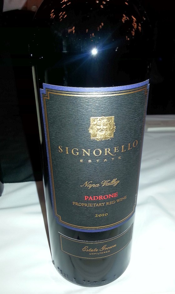 Signorello Estate Winery Padrone 2010