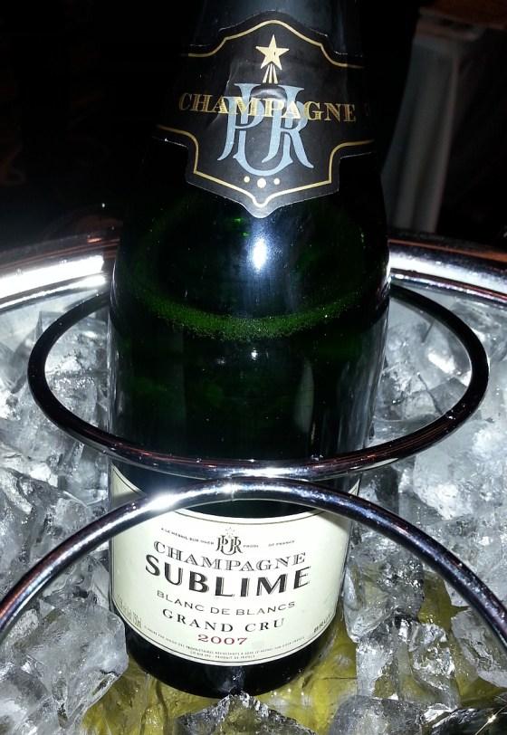 Le Mesnil Champagne Sublime Grand Cru Blanc de Blancs 2007