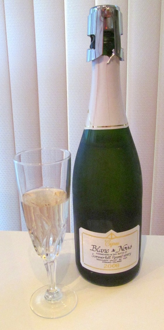 Summerhill Pyramid Winery Cipes Blanc de Noirs 2008
