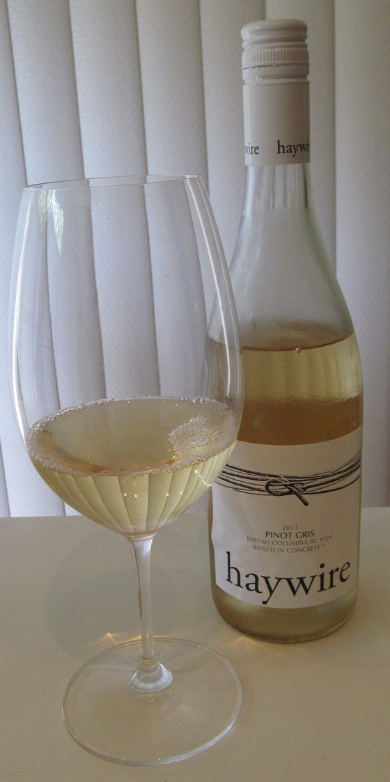 Haywire Pinot Gris 2013