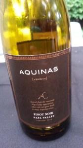 Aquinas Pinot Noir 2012