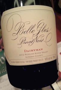 Belle Glos Pinot Noir Dairyman 2012