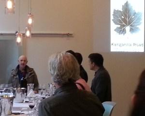 Kevin O'Brien wine maker talks about Kangarilla Road