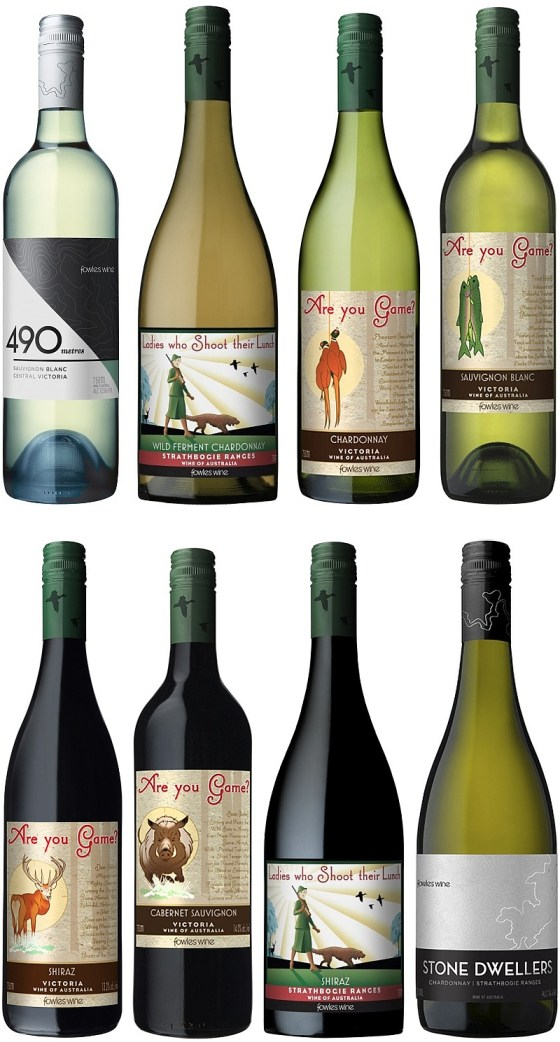 Fowles Wine lineup at the Vancouver International Wine Festival