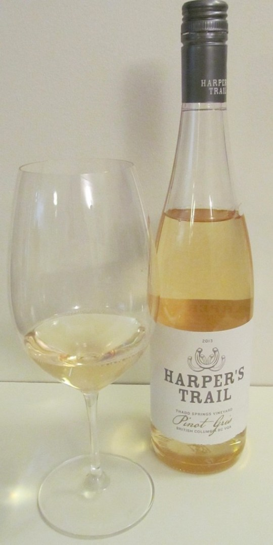 Harper's Trail Pinot Gris 2013