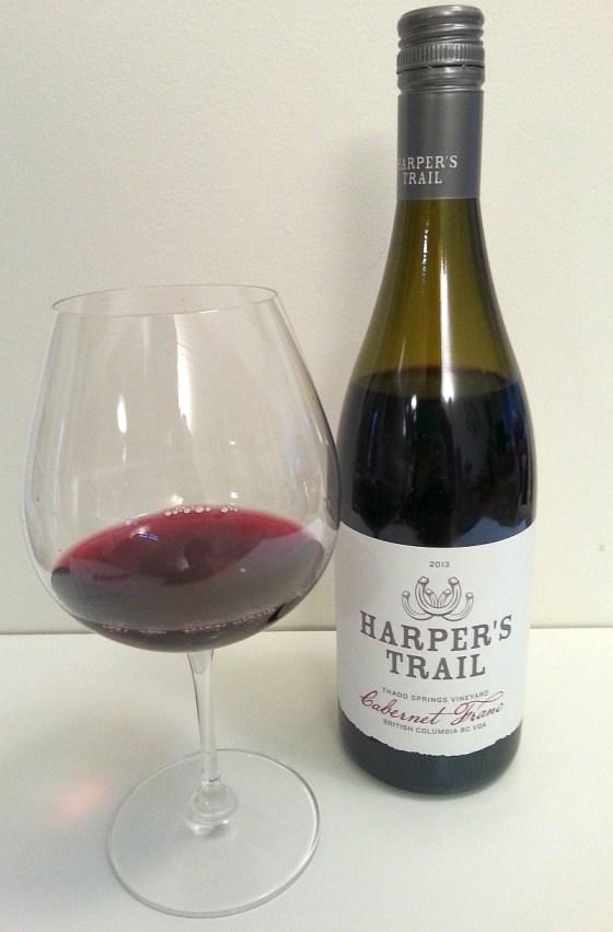 Harper's Trail Thadd Springs Vineyard Cabernet Franc 2013