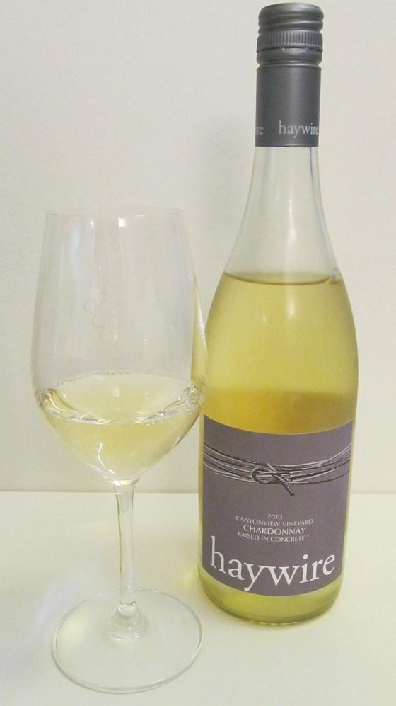 Haywire Canyonview Vineyard Chardonnay 2013