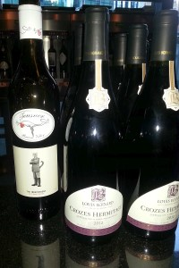 Teusner Shiraz Mataro and Louis Bernard Crozes Hermitage at the Wine Festival