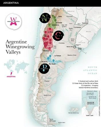 Argentine wine growing regions