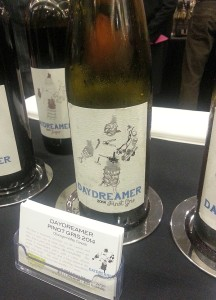 Daydreamer Wines Pinot Gris 2014