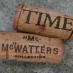 Time and McWatters wine corks
