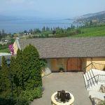 Gray Monk winery overlooking Okanagan Lake