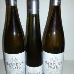 A trio of Harpers Trail Rieslings