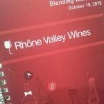 Rhone blending workshop booklet