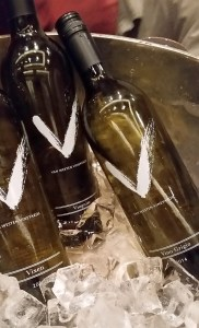 A trio of Van Westen Vineyards white wines
