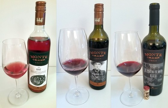 Monte Creek Ranch Rose, Hands Up Red, and Ranch Hand Red Reserve