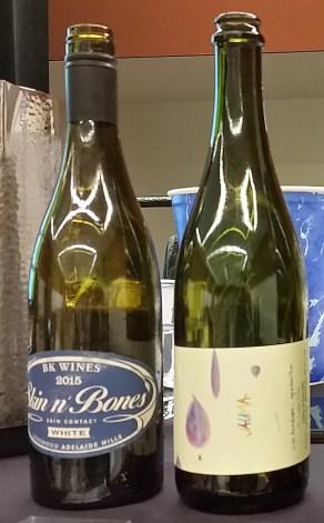 Skin N' Bones and Jauma wines