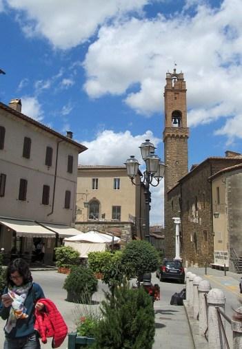 Montalcino town square