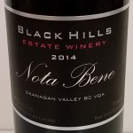 Black Hills Estate Winery Nota Bene 2014 label
