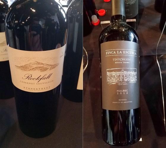 Stonestreet Winery Rockfall Cabernet Sauvignon 2010 and TintoNegro Finca La Escuela Malbec 2012