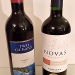 Emiliana Novas Carmenere/Cabernet Sauvignon and Two Oceans Shiraz