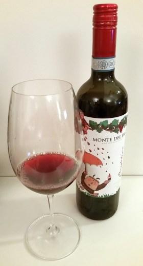 Monte del Fra Bardolino DOC 2013 wine in glass