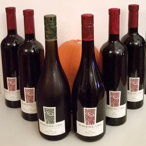 A harvest of Burrowing Owl wines