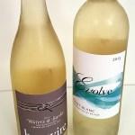 Haywire Waters & Banks Sauvignon Blanc and Evolve Cellars Pinot Blanc