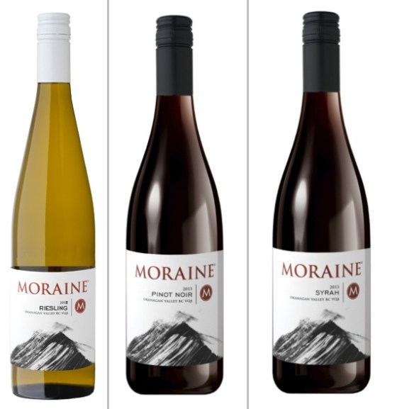 Moraine Riesling, Pinot Noir, and Syrah at the Vancouver International Wine Festival